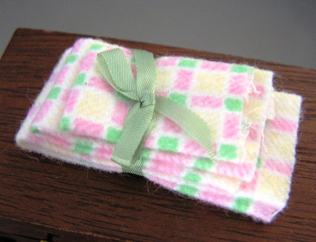 Flannel Guest Towels