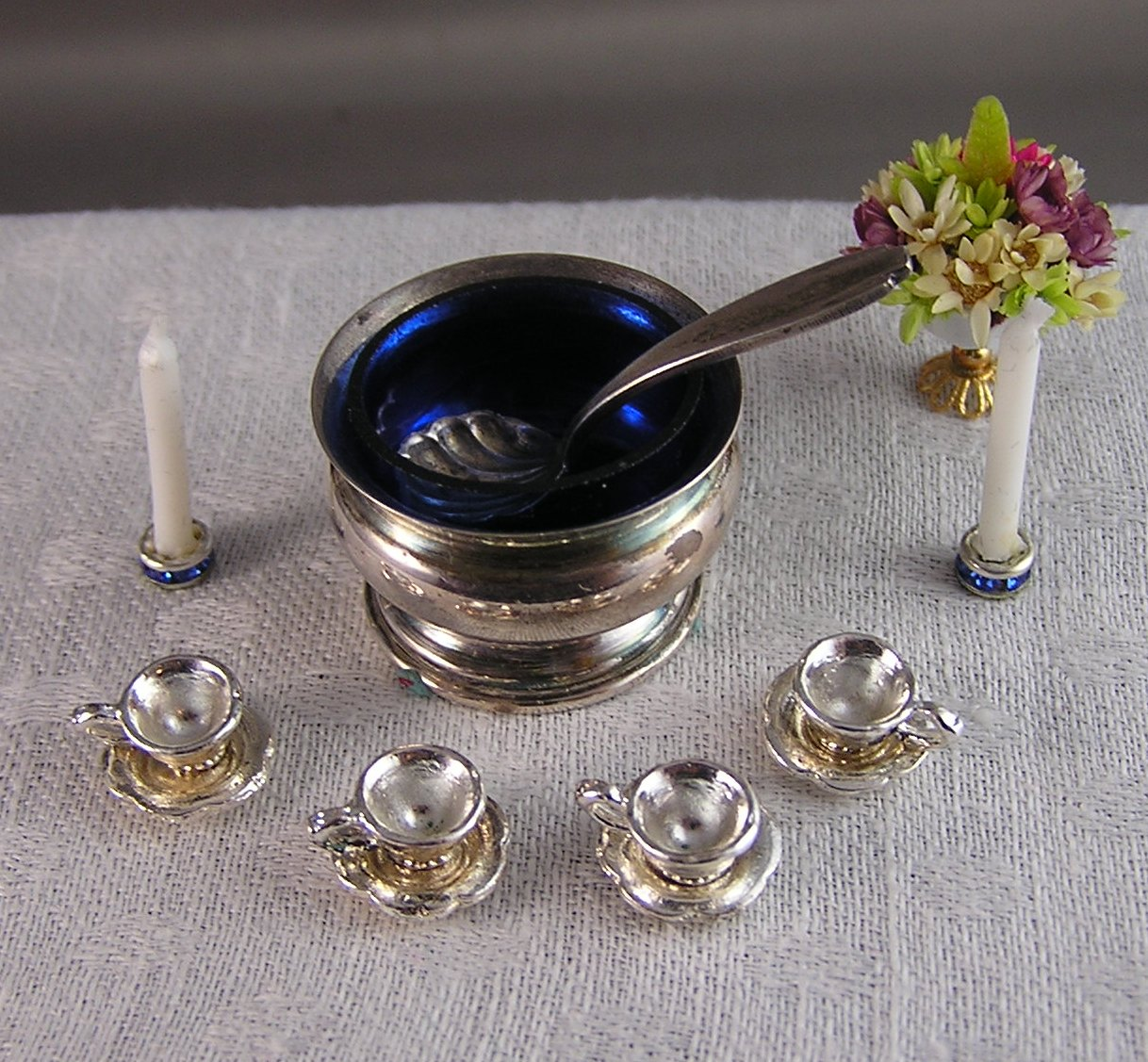 "Sterling and Cobalt ""Punchbowl"""