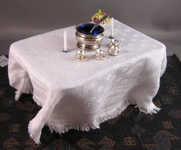Blue Crystal Candlesticks - Click Image to Close