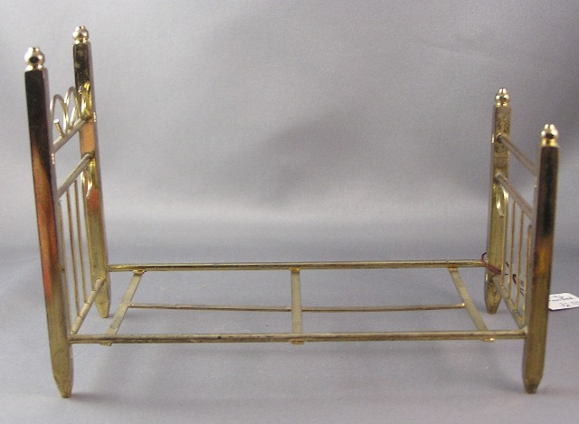 Vintage Twin Brass Bed