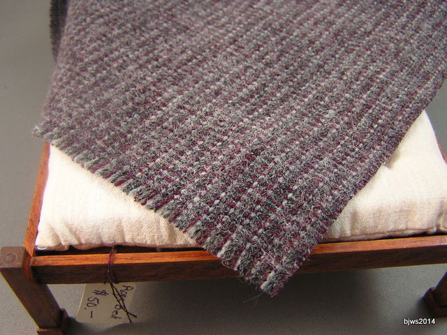 Brown Striped Wool Blanket