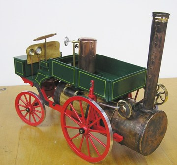 """Studebaker"" Steam Wagon in 1:12 Scale - Click Image to Close"