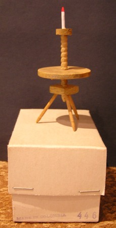 Early American Candle Stand, Sonia Messer #446