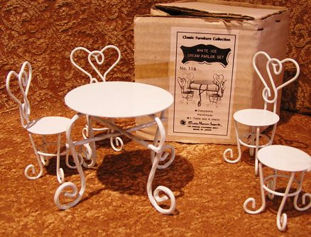 Ice Cream Parlor Table Set by Sonia Messer #119