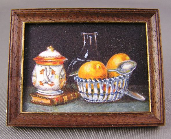 """Sugar Bowl and Lemons"" by Leigh Herrick-Hallowell"