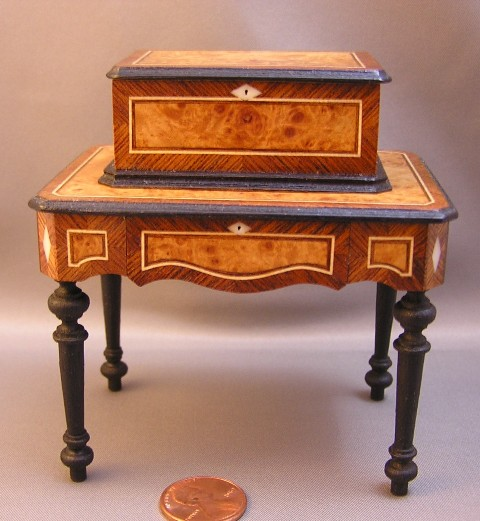 """Grand Format"" Music Box and Table"