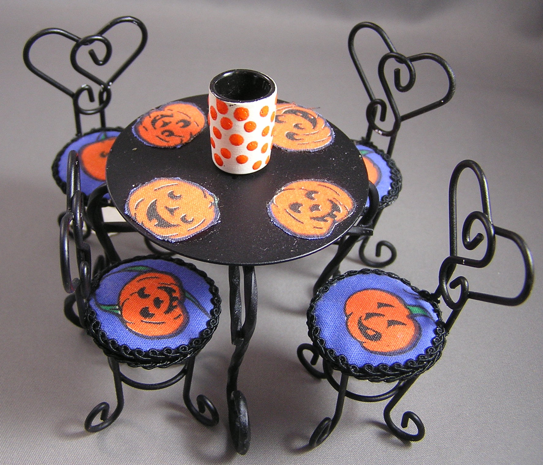 Ice Cream Table Set for Halloween