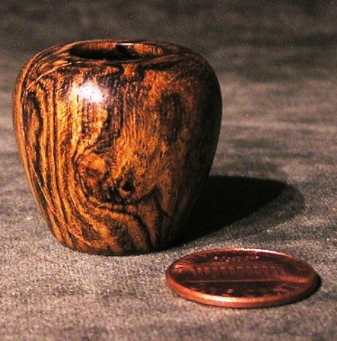 Bocote Urn #19 - Click Image to Close