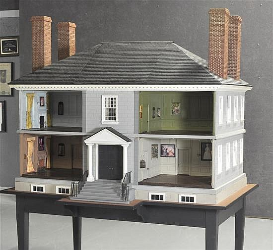 Wilton Doll House from the Jackie Andrews Estate