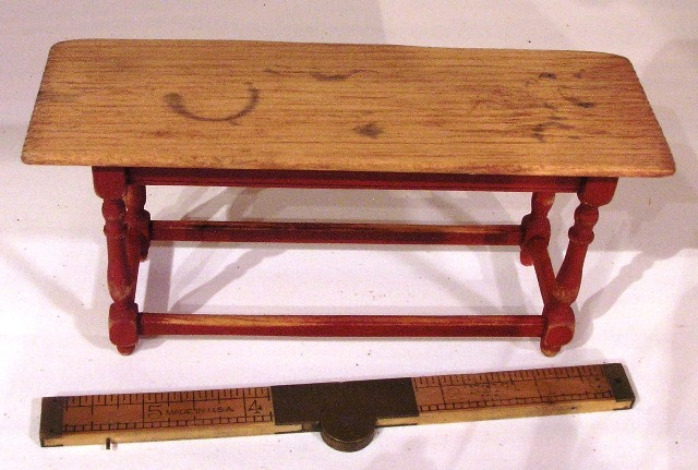 """Aged"" Work Table by Bill Studebaker - Click Image to Close"