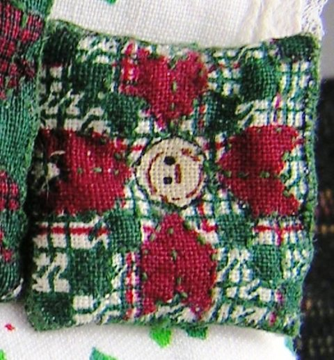 Quilted-look Throw Pillow #4