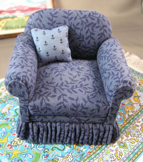 Upholstered Chair by M. Hart