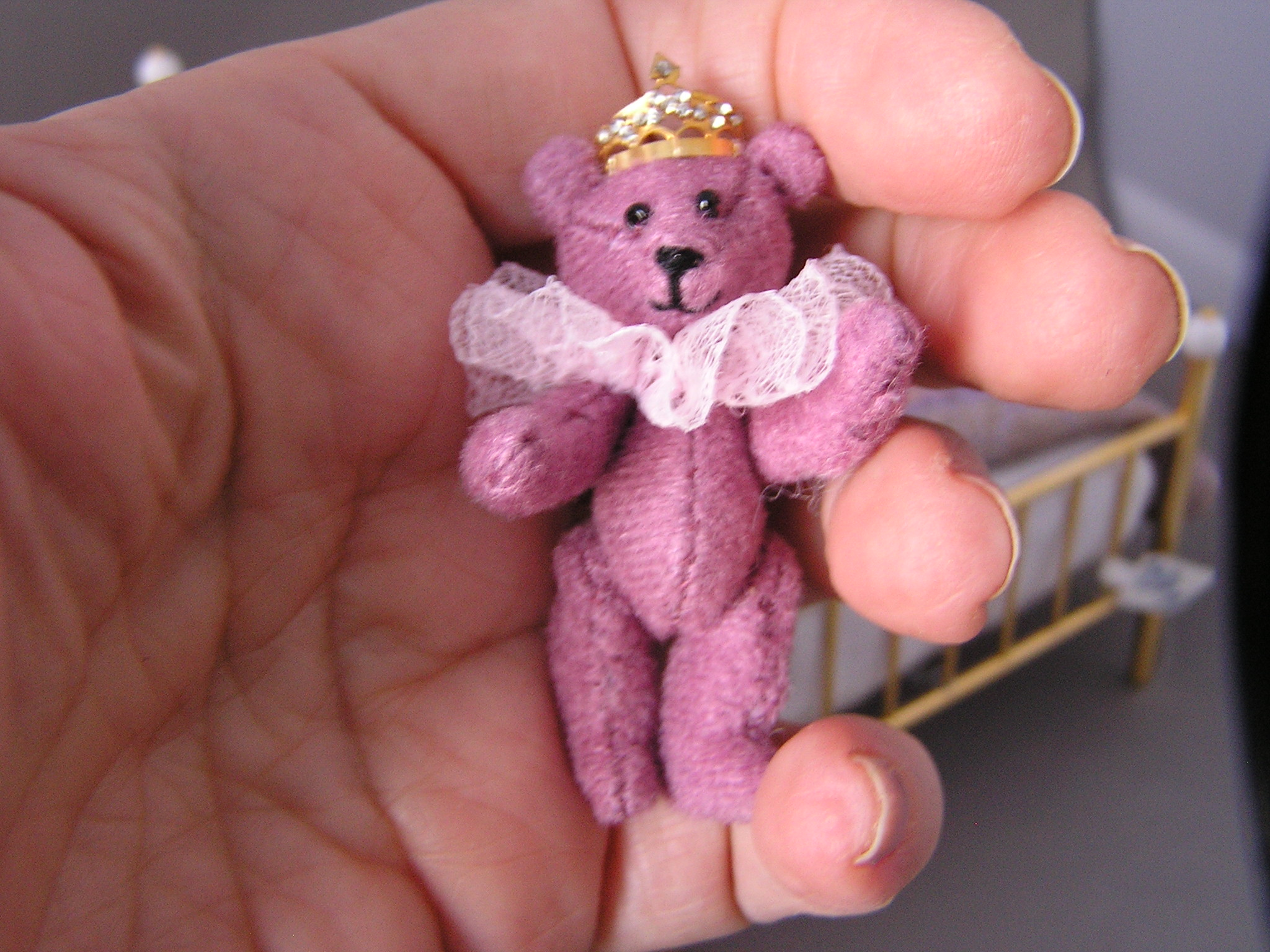 Purple Princess Bear - Click Image to Close