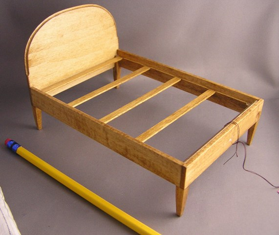 Bill's 1950's Double Bed & Mattress - Click Image to Close